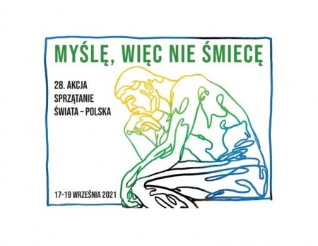 28 Akcja Sprzątanie Świata-Polska pod hasłem: Myślę, więc nie śmiecę.