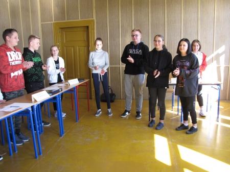 Wybory Zarządu Samorządu Uczniowskiego